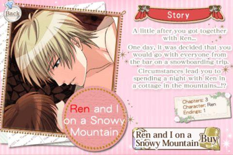 Ren And I On A Snowy Mountain Wiki Anime Amino