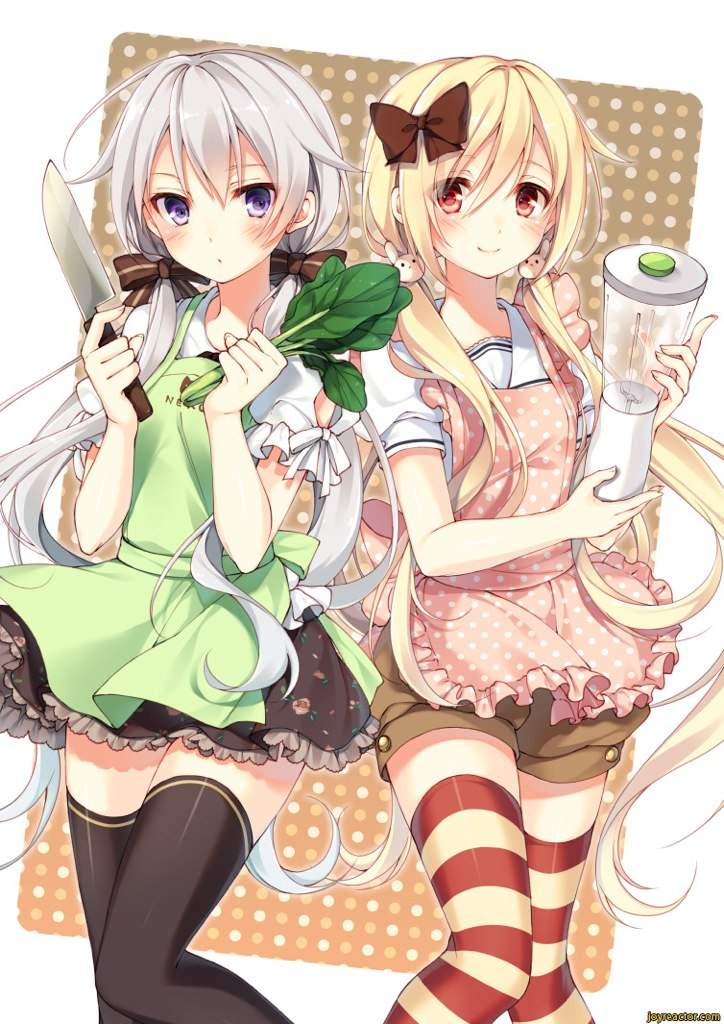 Anime with two girls