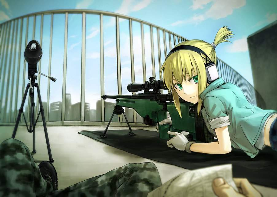 667 best images about Anime girls with guns on Pinterest | Pistols ...