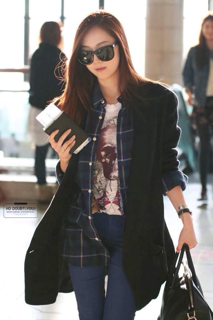 Jessica Jung Airport Fashion K Pop Amino