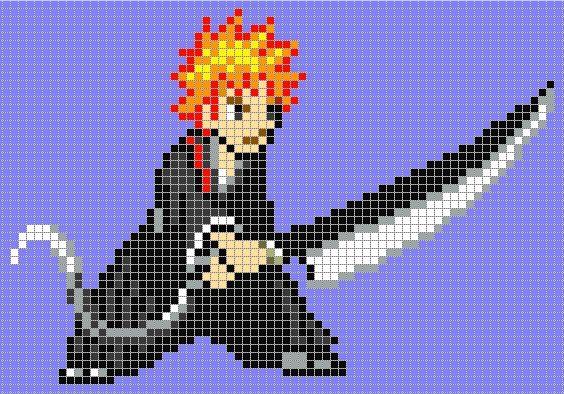 Anime Pixel Art Template | www.pixshark.com - Images ...