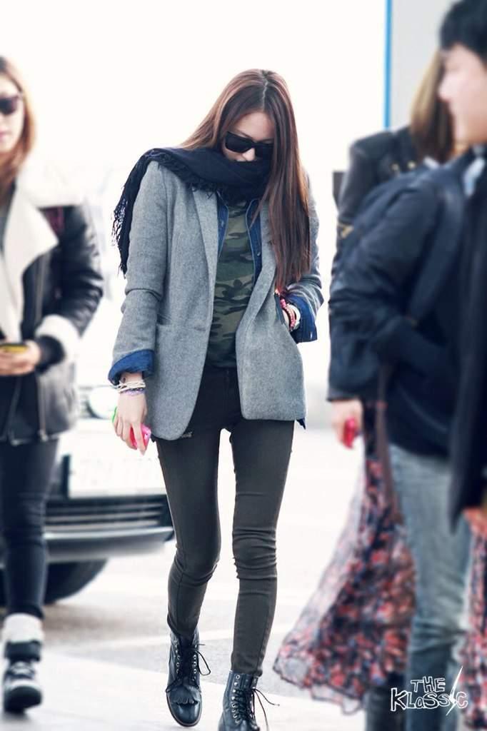 My k-pop database: 110819 snsd airport fashion mykpopdatabaseblogspotcom