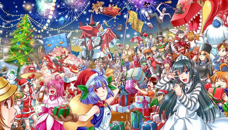 Anime Merry Christmas.Merry Christmas Anime Amino And Everyone Anime Amino