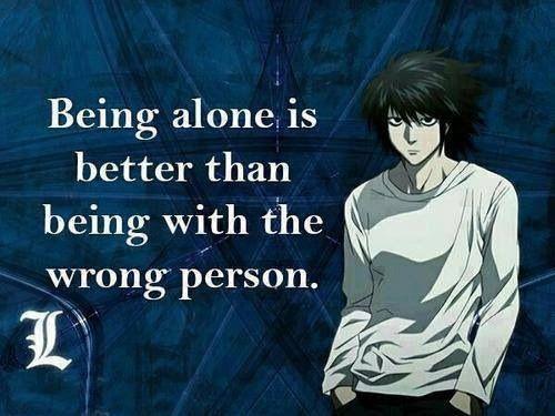 L Lawliet Quote Anime Amino