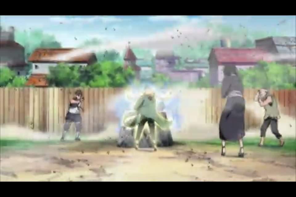 Naruto Shippuden:🔹Tsunade🔹Vs. ⚡️Raikage⚡️   Anime Amino
