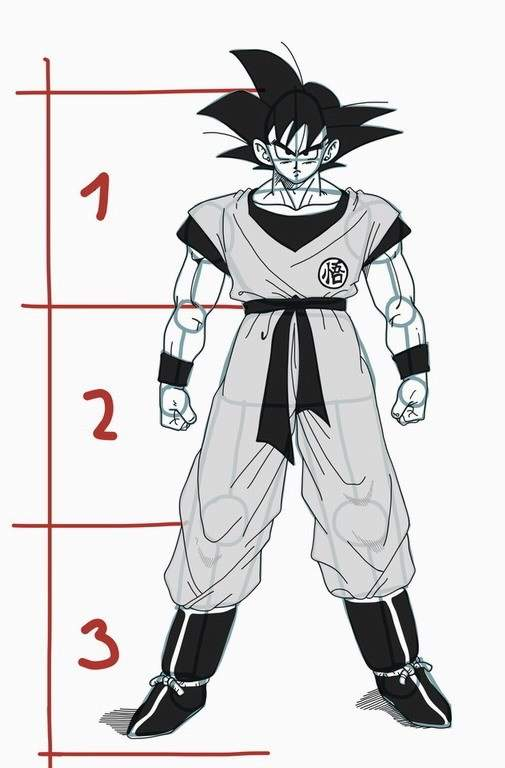 How To Draw Goku From Dragon Ball Z Full Body Art Amino