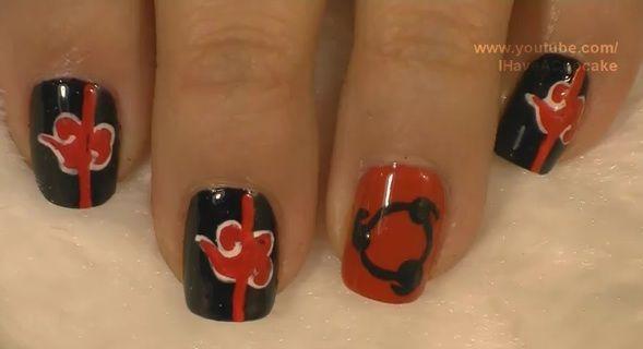 Anime nail art inspiration | Anime Amino