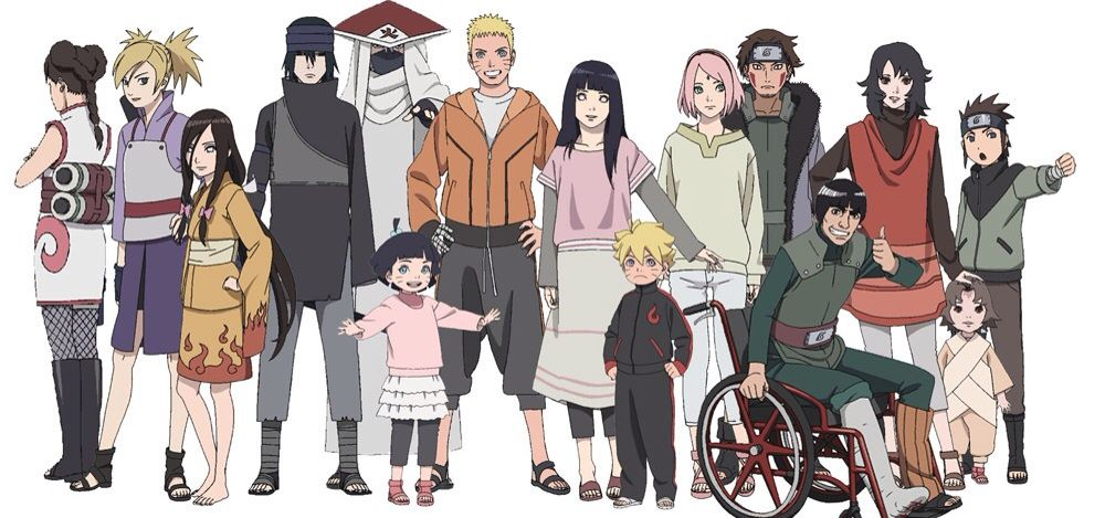 Naruto Characters All Grown Up
