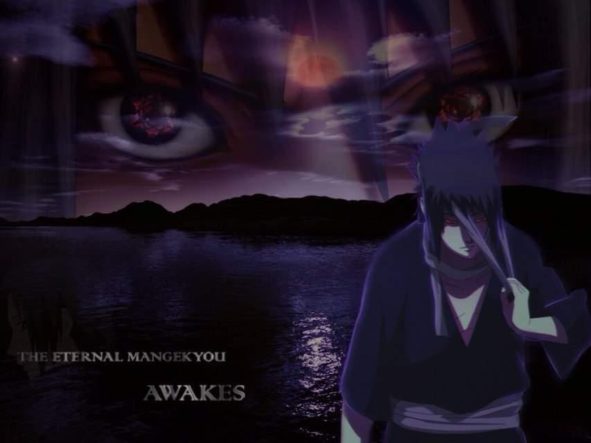 Sasuke Eternal Mangekyo Sharingan