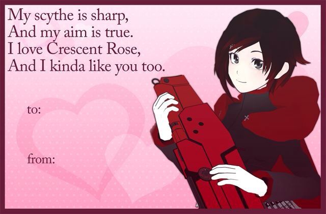 Happy Valentine S Day From Rwby Anime Amino
