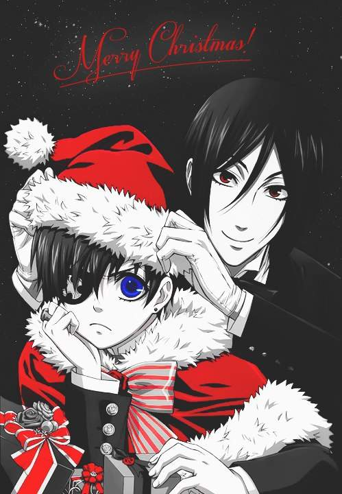 black butler christmas anime amino - Black Butler Christmas