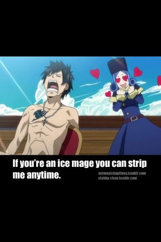 anime pick up lines
