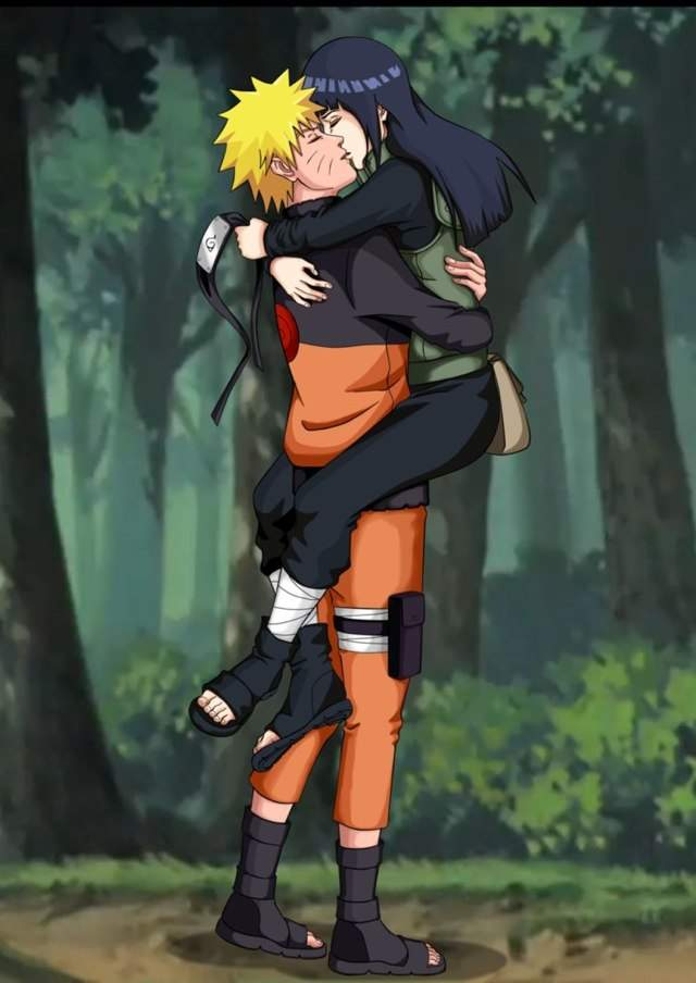 Naruto hinata wiki anime amino this surprises hinata as she asks naruto what he just said naruto then confesses to hinata that he loves her after hearing it hinata was shocked and she voltagebd Images
