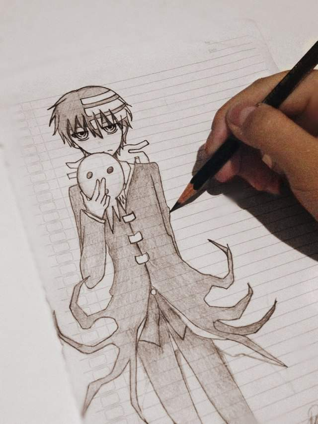 Drawing Death The Kid Anime Amino