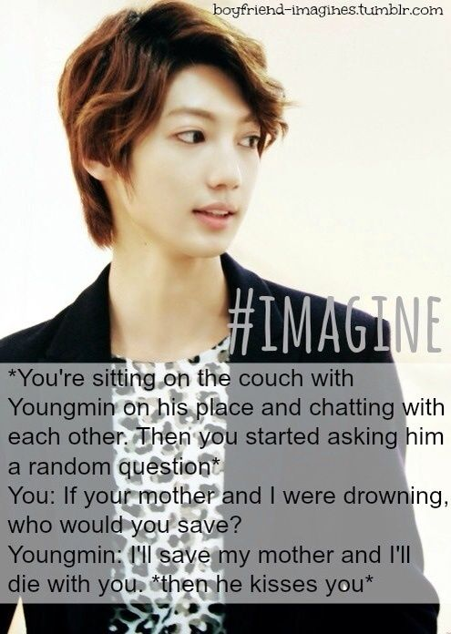 Boyfriend imagines | K-Pop Amino