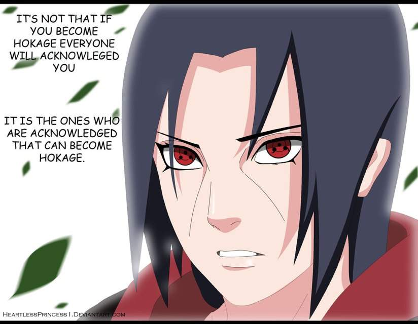 Itachi Uchiha Quotes | Anime Amino