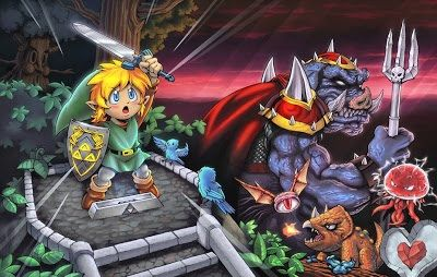 The Legend Of Zelda A Link To The Past Wiki Video Games