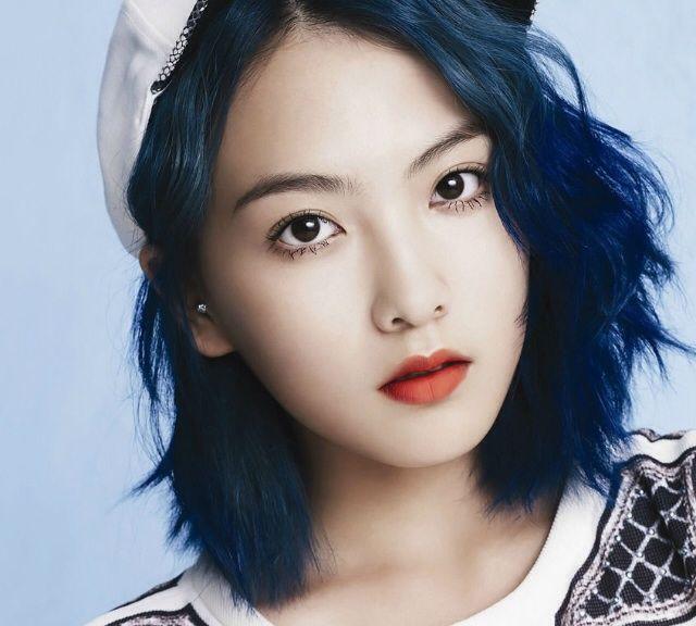 50 Shades Of Kpop Hair: Blue