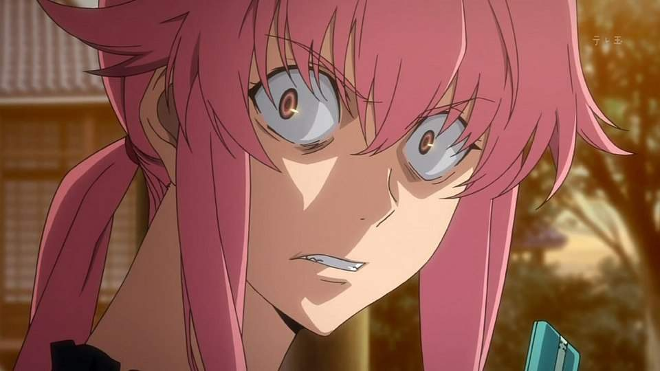 THERES SOMETHING ABOUT IT THAT MAKES ME WANT TO GO YUNO GASAI MODE MAN