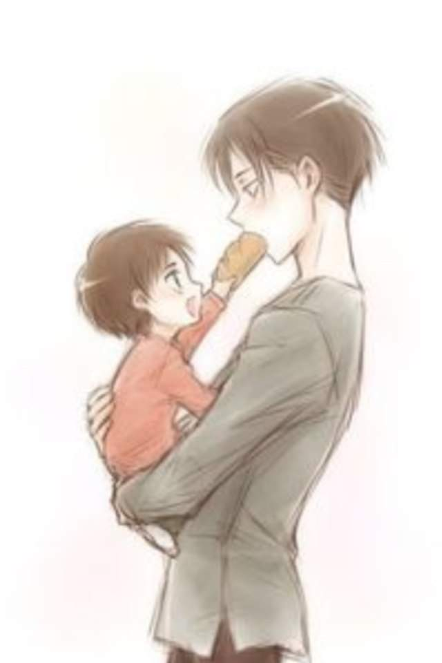 Daddy Levi And Baby Eren | Wiki | Anime Amino