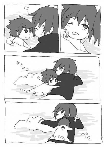 Baby Sasuke And Big Brother Itachi Anime Amino